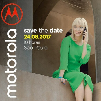 Which device will Motorola unveil on August 24th?