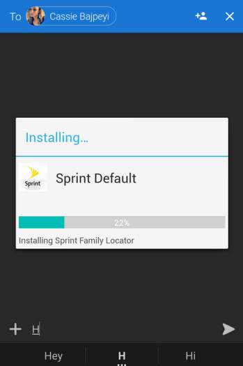 SprintID continually monitors bloatware on the KEYone and automatically re-installs missing apps