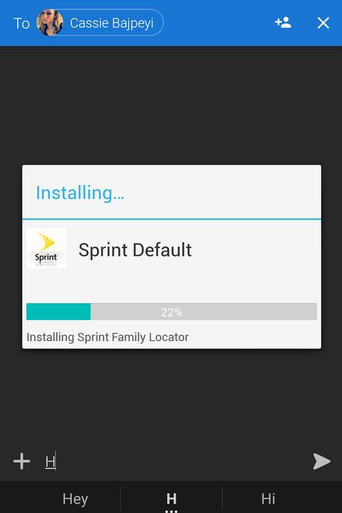 SprintID continually monitors bloatware on the KEYone and automatically re-installs missing apps - Sprint app continuously re-installs and enables bloatware on the BlackBerry KEYone?