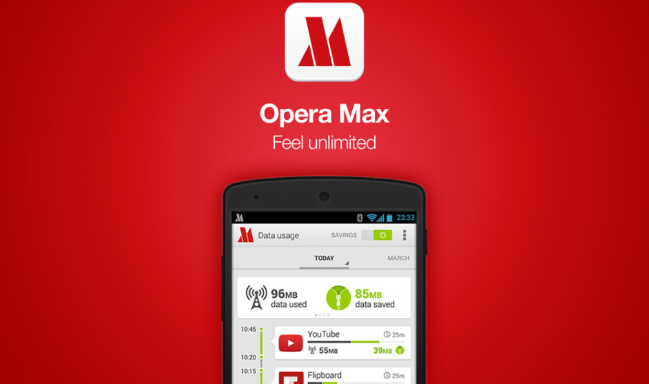 Opera Max for Android gets discontinued and removed from the Google Play