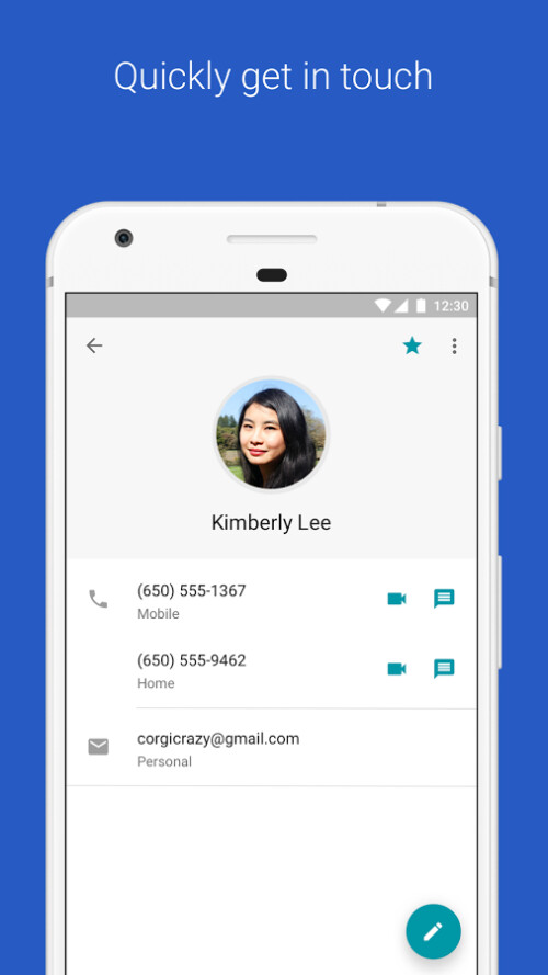 Google Contacts for Android