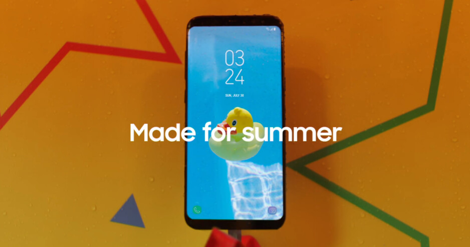 Samsung unleashes new summer-ish Galaxy S8 commercials