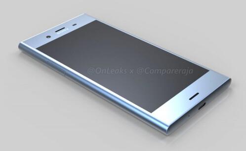 Alleged Sony Xperia XZ1 renders