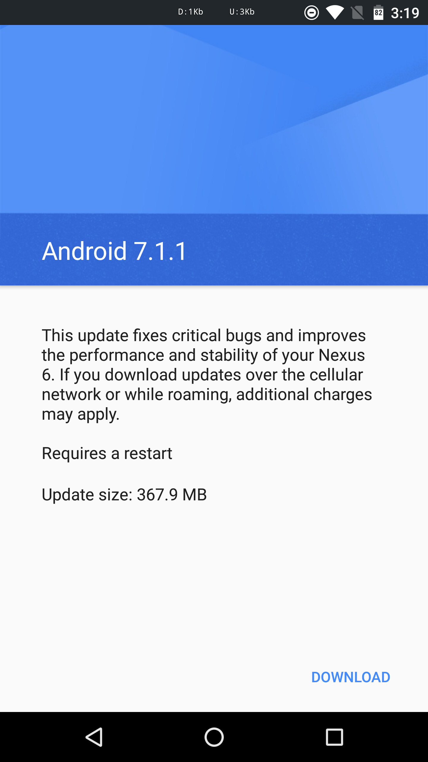 Nexus 6 is getting Android 7.1.1 Nougat update once again - PhoneArena