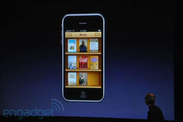 iBooks for the iPhone - First look at Apple iPhone OS 4