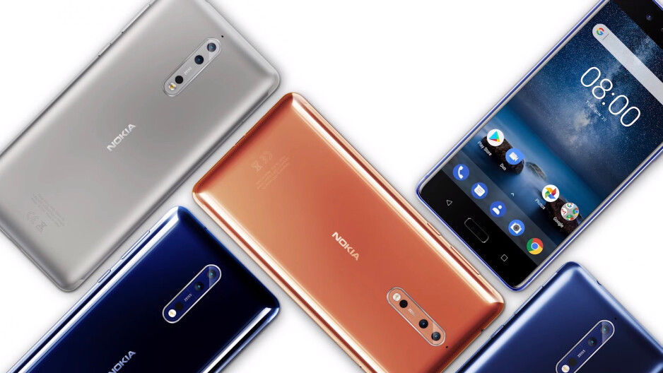 Nokia 8 price, release date and carrier availability