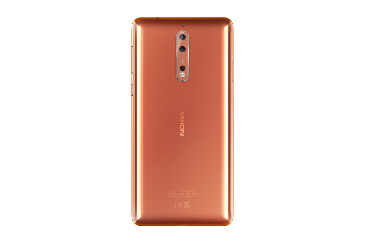 Good Color Nokia 8 Flagship Is Official With Zeiss Dual Camera And