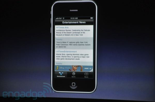 iAds will rely on emotion and interactivity - First look at Apple iPhone OS 4