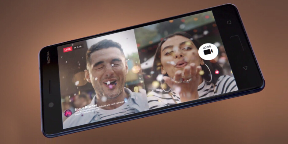 The live broadcast feature on the Nokia 8 - Nokia 8 specs review: more than meets the eye or just another flagship?