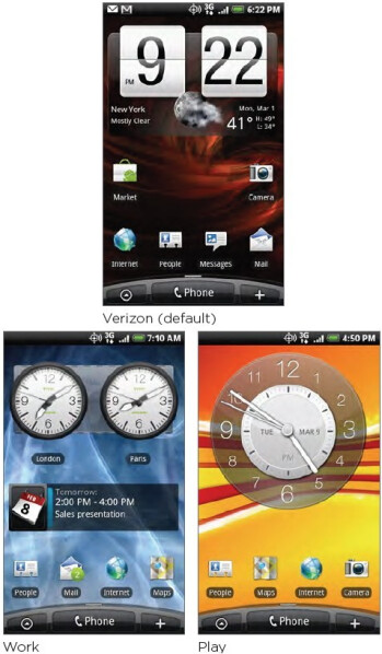 User guide for Verizon's HTC Incredible gets leaked