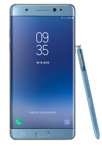 Samsung later reworked the Note 7 into the Note FE, with 'improved' (smaller) battery design; so far, no explosions reported!