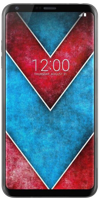Leaked render of the LG V30