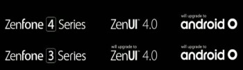 Asus plans on updating ZenFone 3 and ZenFone 4 models to Android O