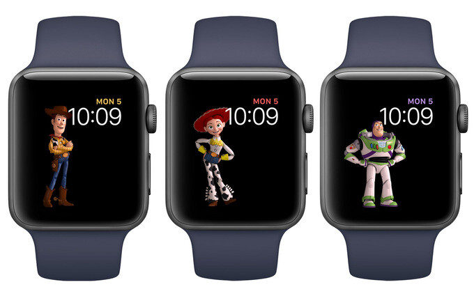 Watch faces with Toy Story characters are among the many perks coming with watchOS 4, which the Apple Watch Series 3 will run - Apple Watch Series 3 rumor review: design, features, price, release date, all we know so far
