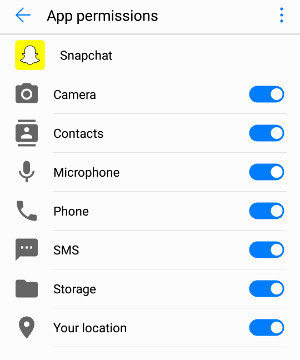 Constantly having beeps at the end of calls? Look at your Snapchat permissions