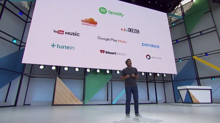 At Google I/O in May, it was announced that certain streaming music apps would gain Google Home support - Google Home will now work with the free ad supported tier of Spotify
