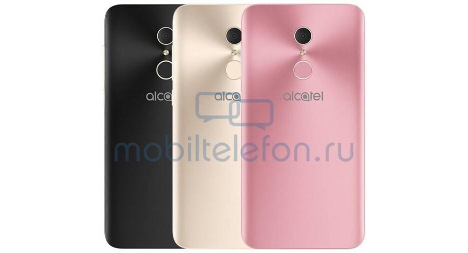 Alcatel A3 Plus 3G - Alcatel A3 Plus, A7 XL and U5 HD leak ahead of IFA 2017 reveal