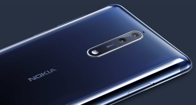 A customized version of Nokia 8 may eventually arrive in the U.S. this year
