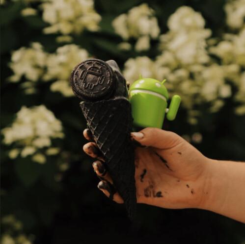 Android Oreo Oreos