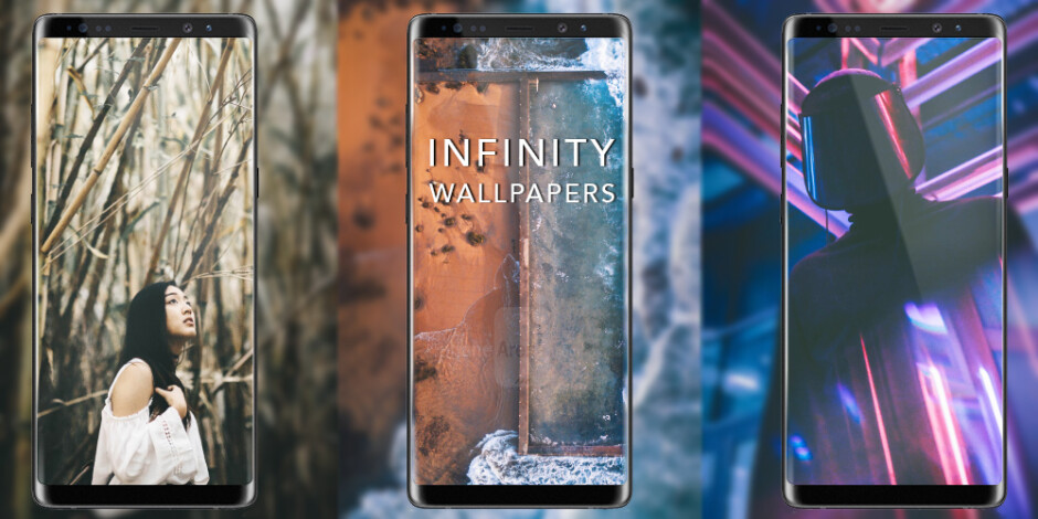 30+ Infinity Display wallpapers perfect for the Galaxy Note 8 and the Galaxy S8/S8+