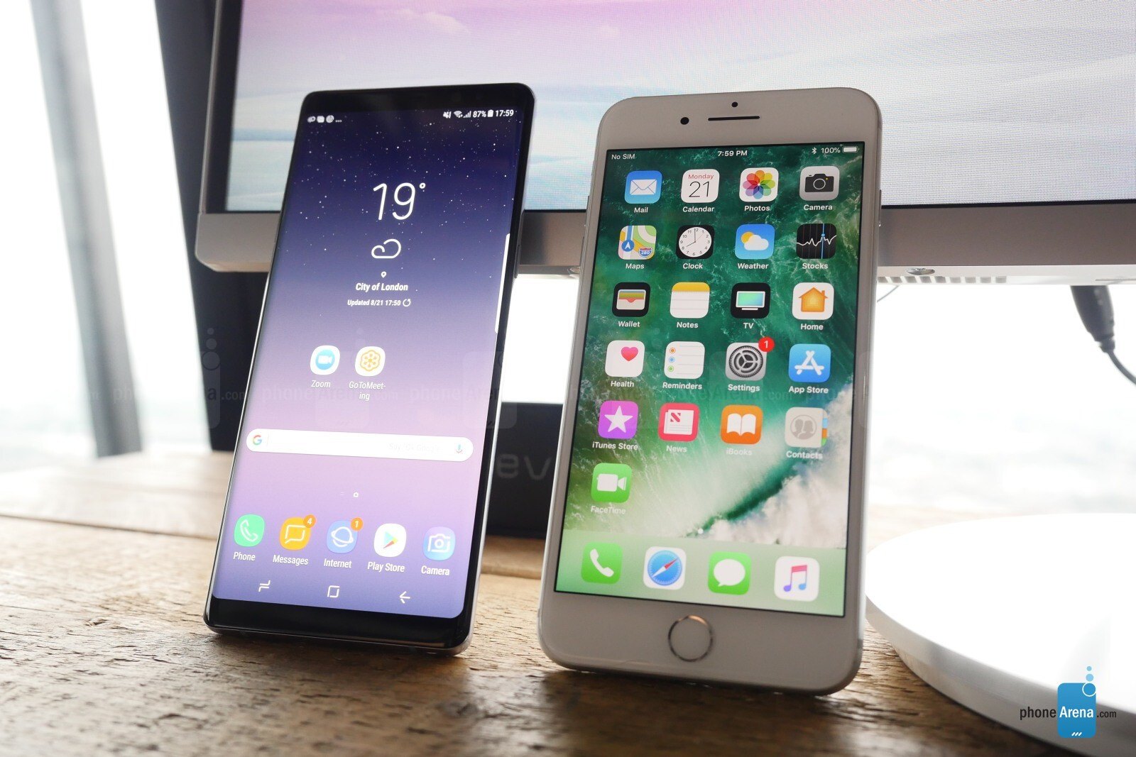 Iphone 6s+ Vs Samsung Note8