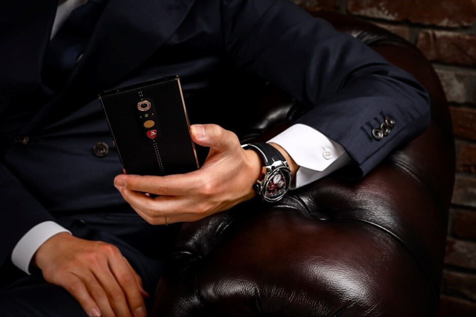 """Lamborghini launches another luxury phone made from """"the finest materials"""""""