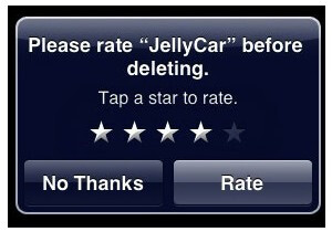 Apple deletes controversial system that rates an app when you delete it
