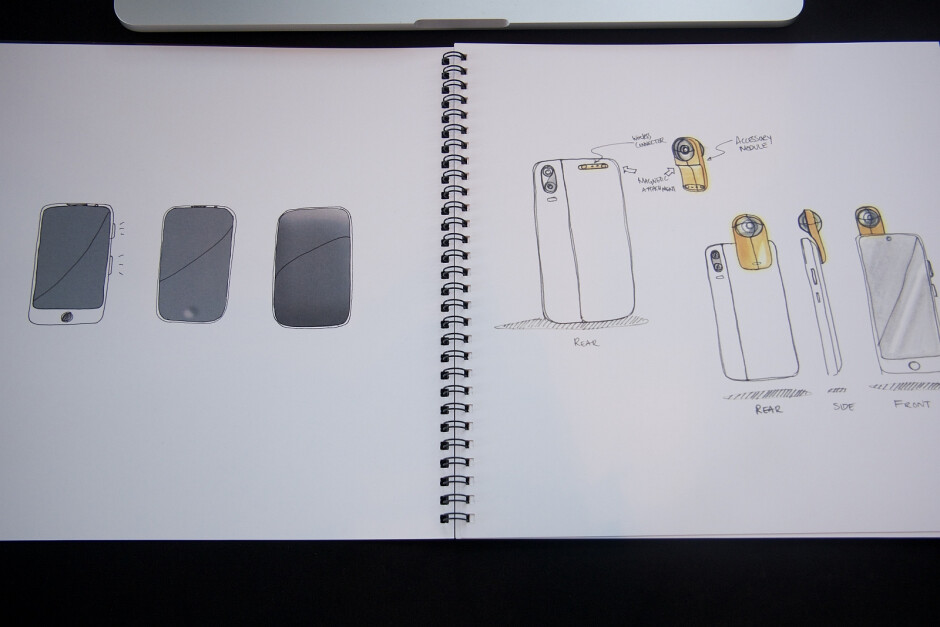 Initial Renders of the Phone and 360 Camera - Essential Phone hands-on