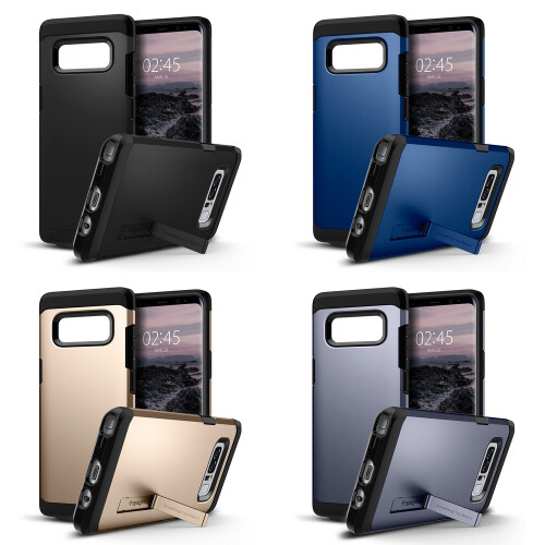 Spigen Tough Armor and Crystal Armor for Note 8