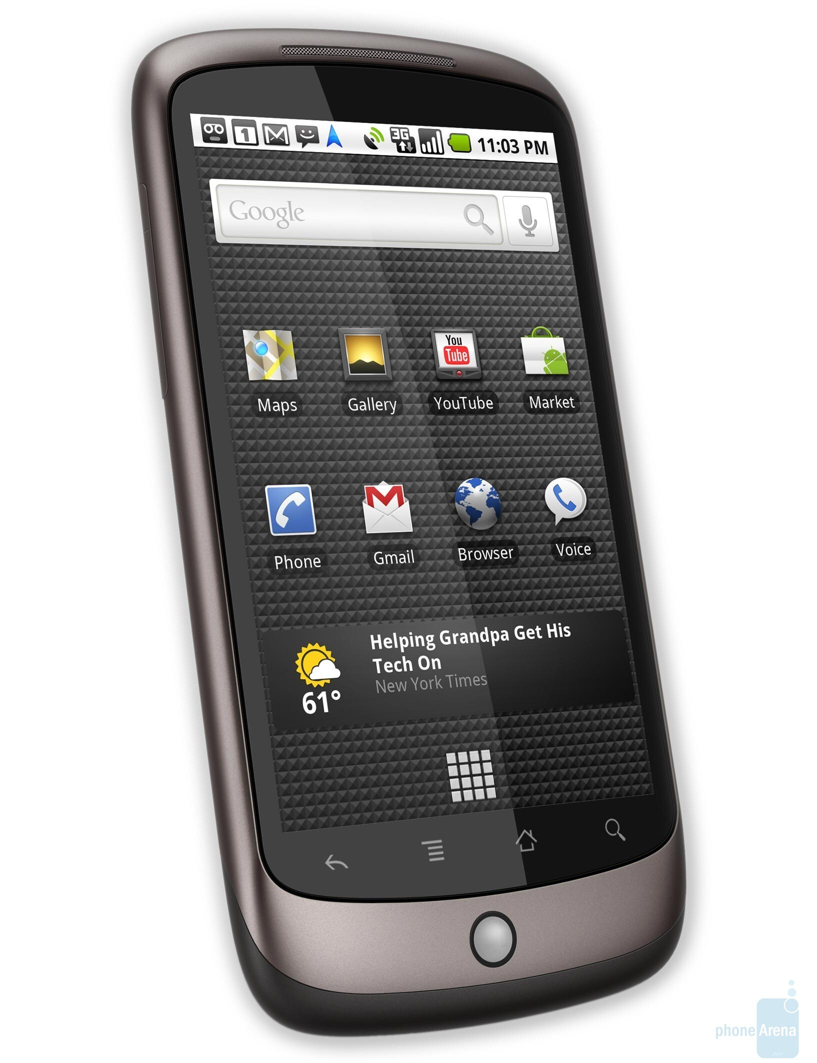 Should I choose the HTC EVO 4G or the Google Nexus One? - PhoneArena