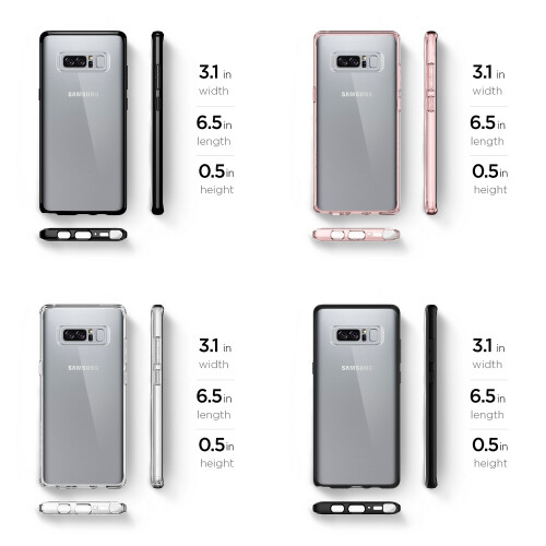 pretty nice df3d9 ad614 Spigen's cases are ready to protect your Galaxy Note 8 from day 1 ...