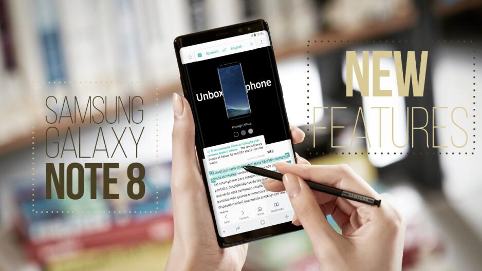 Samsung Galaxy Note 8: all new features
