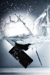 Device--S-Pen-IP68-Water-tank