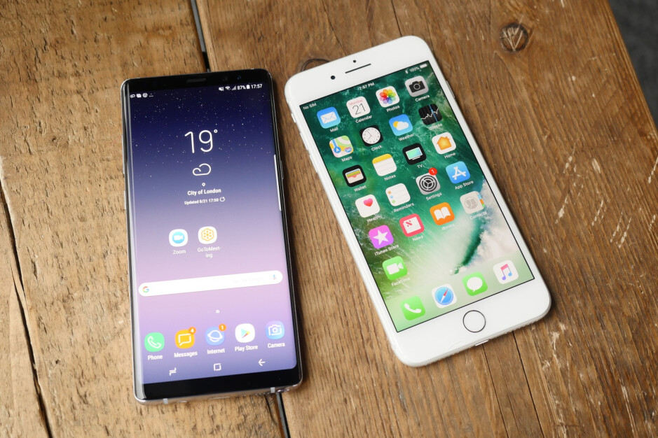 Galaxy Note 8 vs iPhone 7 Plus - Samsung Galaxy Note 8 hands-on: The Cautionary Follow-up