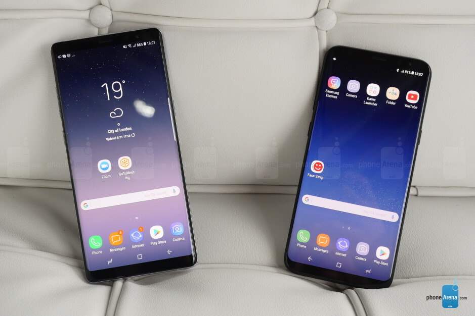 Note 8 vs S8+ - Samsung Galaxy Note 8 hands-on: The Cautionary Follow-up