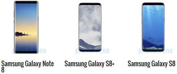 Galaxy Note 8 vs S8+ vs S8 official battery life may leave you unimpressed