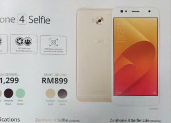 Asus ZenFone 4 Selfie Lite is a new smartphone that costs $210