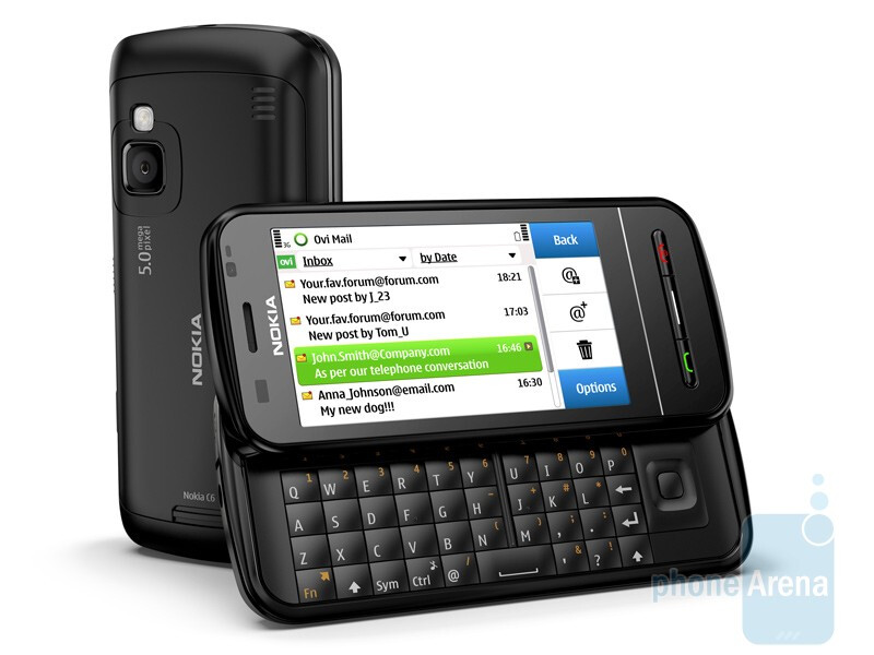 The Nokia C6 is powered by S60 - Nokia introduces C3, C6 and E5 messaging solutions