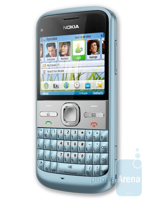 Nokia E5 is a messaging solution for business users - Nokia introduces C3, C6 and E5 messaging solutions