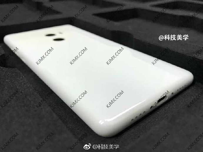 Photo of Xiaomi Mi MIX 2's rear panel allegedly leaks out