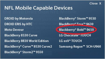 BlackBerry Bold 9650 gets unintentionally confirmed by Verizon