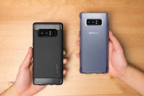 Spigen Rugger Armor and Crystal Armor for Note 8