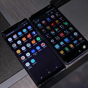 Samsung Galaxy Note 8 vs. HTC U11: a comparison