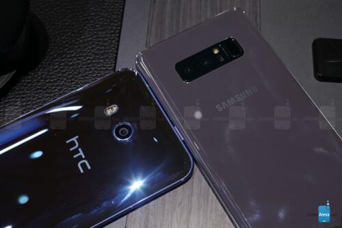Samsung Galaxy Note 8 vs. HTC U11
