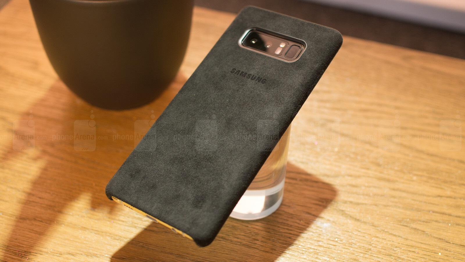 Official Samsung Galaxy Note 8 Alcantara Case Hands On
