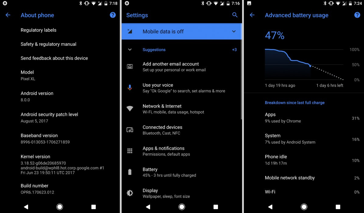 Android Oreo may soon get support for custom themes without