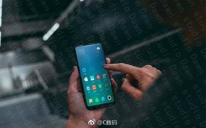 Is this the Xiaomi Mi MIX 2? - Xiaomi Mi MIX 2 live photo allegedly leaks