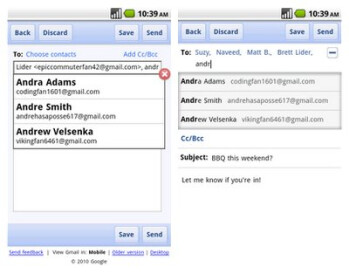 Composing page for Gmail mobile app for Android & iPhone gets redesigned