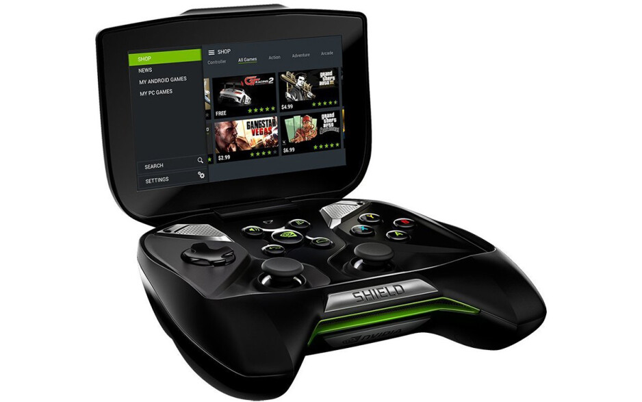The original Nvidia Shield Portable, which was released all the way back in 2013 - Prototype of the unreleased Nvidia Shield Portable 2 gaming tablet found in Canadian pawn shop