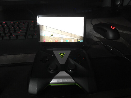 Nvidia Shield Portable 2 prototype